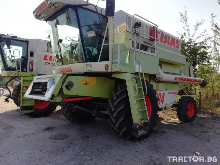Комбайни Claas MEGA 204 0 - Трактор БГ