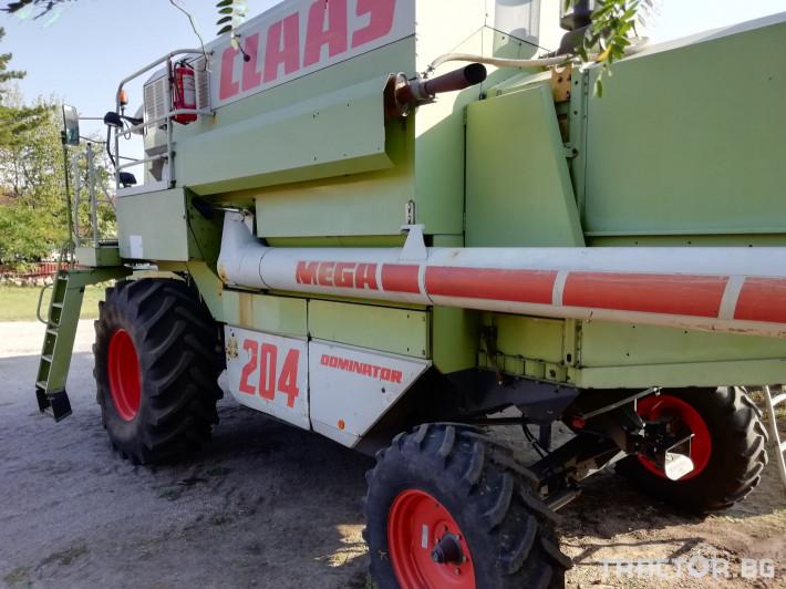 Комбайни Claas MEGA 204 9 - Трактор БГ