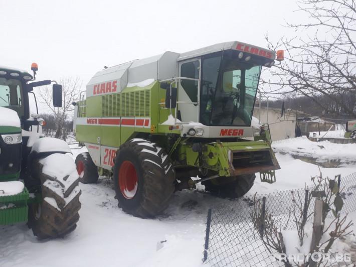 Комбайни Claas Mega 218 0 - Трактор БГ