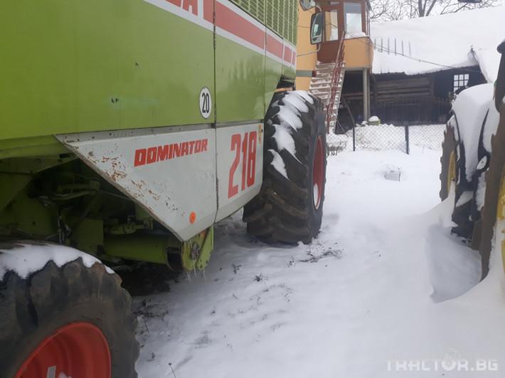 Комбайни Claas Mega 218 7 - Трактор БГ