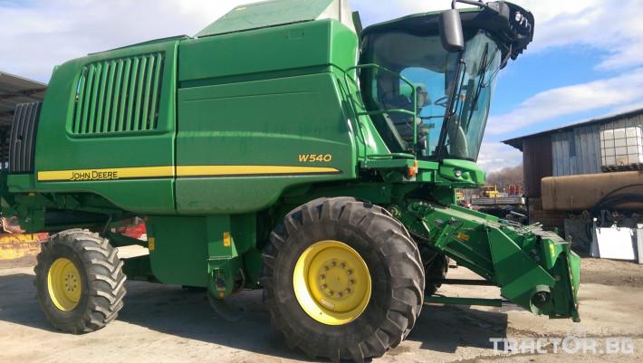 Комбайни John-Deere W540 0 - Трактор БГ