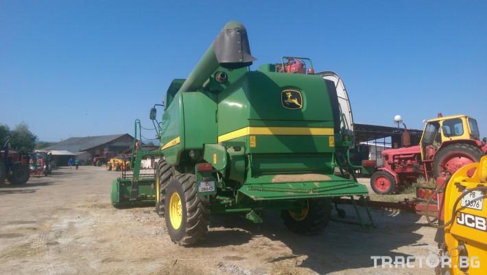 Комбайни John-Deere W540 1 - Трактор БГ