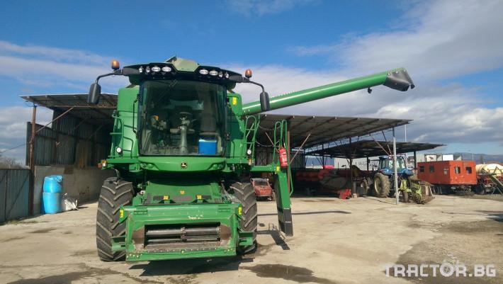 Комбайни John-Deere W540 3 - Трактор БГ