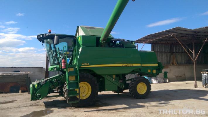 Комбайни John-Deere W540 4 - Трактор БГ