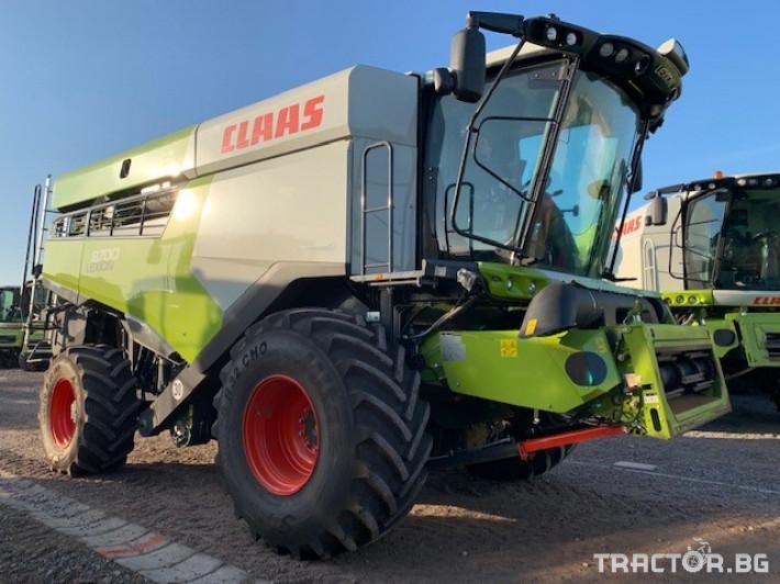 Комбайни Claas LEXION 8700 4x4 1 - Трактор БГ
