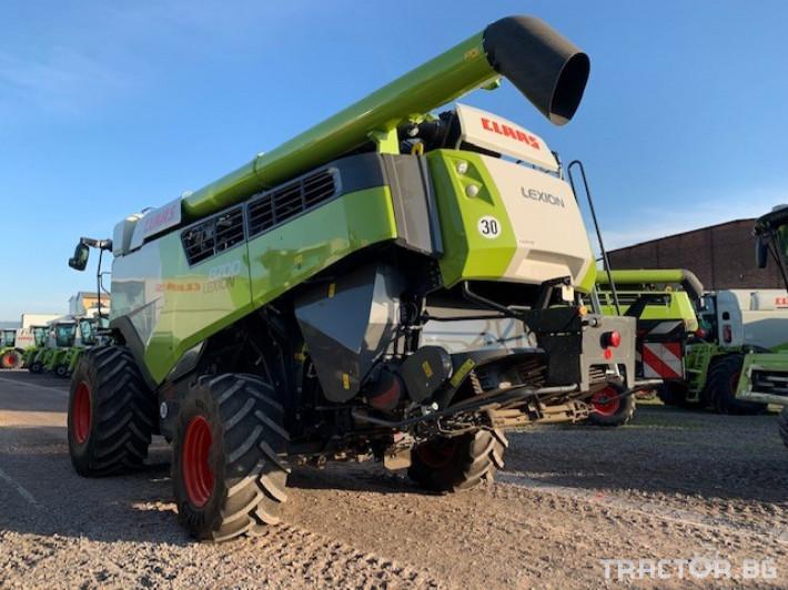 Комбайни Claas LEXION 8700 4x4 2 - Трактор БГ