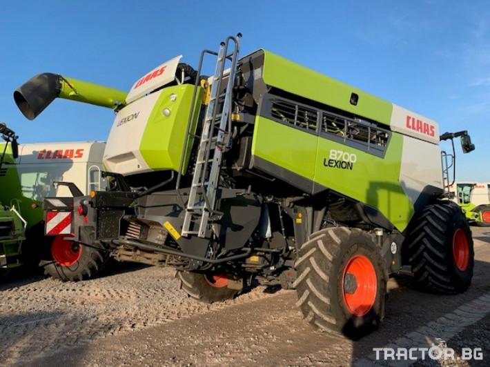 Комбайни Claas LEXION 8700 4x4 3 - Трактор БГ