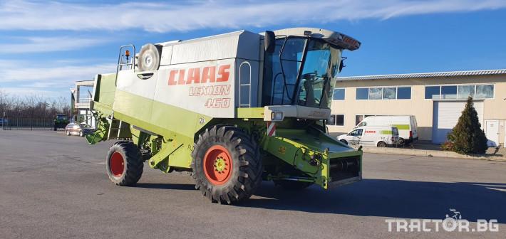 Комбайни Claas Lexion 460 4 - Трактор БГ