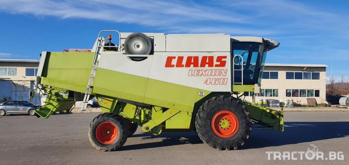 Комбайни Claas Lexion 460 6 - Трактор БГ