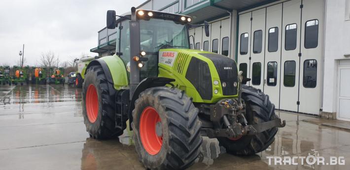 Трактори Claas Axion 850 0 - Трактор БГ