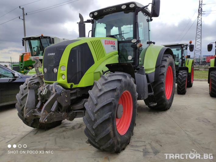 Трактори Claas Axion 850 CEBIS 0 - Трактор БГ