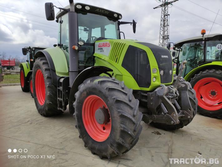 Трактори Claas Axion 850 CEBIS 5 - Трактор БГ