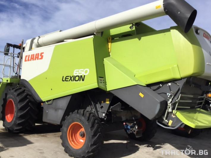 Комбайни Claas Lexion 650 0 - Трактор БГ