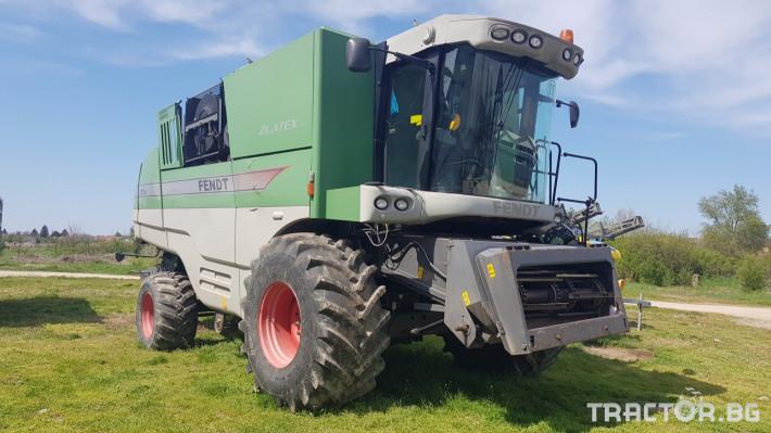 Комбайни Fendt 8370Р 4 - Трактор БГ
