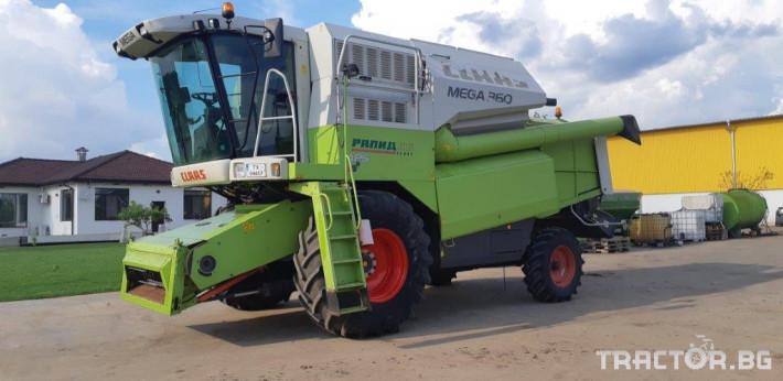 Комбайни Claas MEGA 360 0 - Трактор БГ