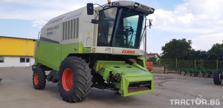 Комбайни Claas MEGA 360 2 - Трактор БГ