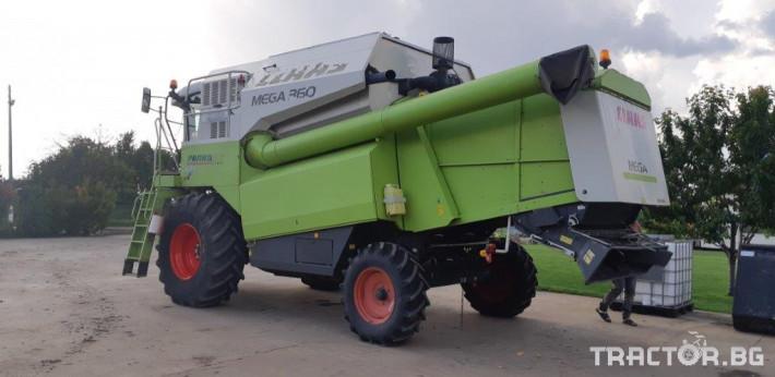 Комбайни Claas MEGA 360 4 - Трактор БГ