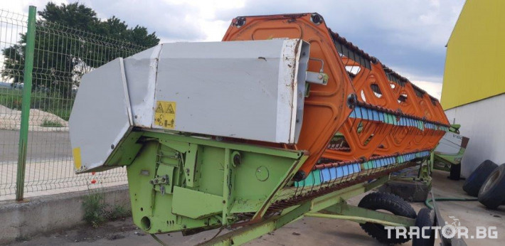 Комбайни Claas MEGA 360 14 - Трактор БГ