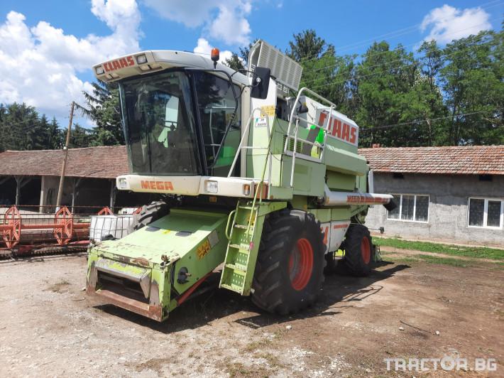 Комбайни Claas MEGA 204 1 - Трактор БГ