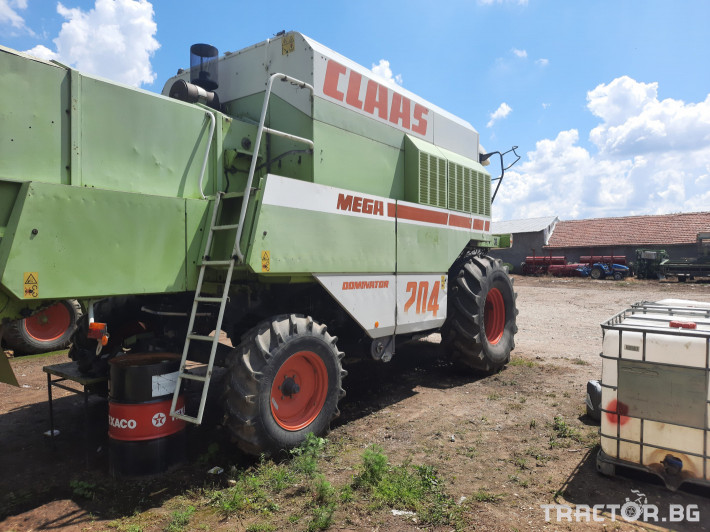 Комбайни Claas MEGA 204 7 - Трактор БГ