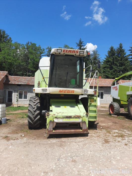 Комбайни Claas MEGA 204 12 - Трактор БГ