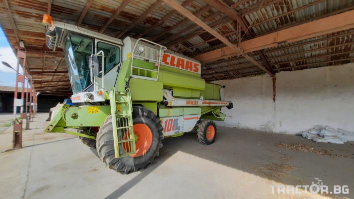 Комбайни Claas Dominator 108 0 - Трактор БГ