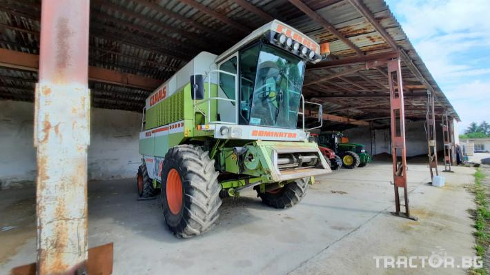 Комбайни Claas Dominator 108 1 - Трактор БГ