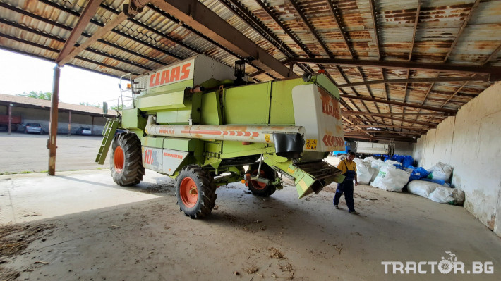 Комбайни Claas Dominator 108 3 - Трактор БГ