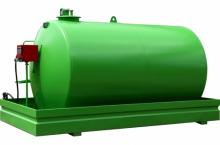 Надземен дизелов резервоар с колонка - 9500L
